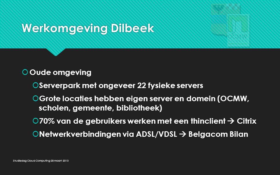 Werkomgeving Dilbeek Oude omgeving