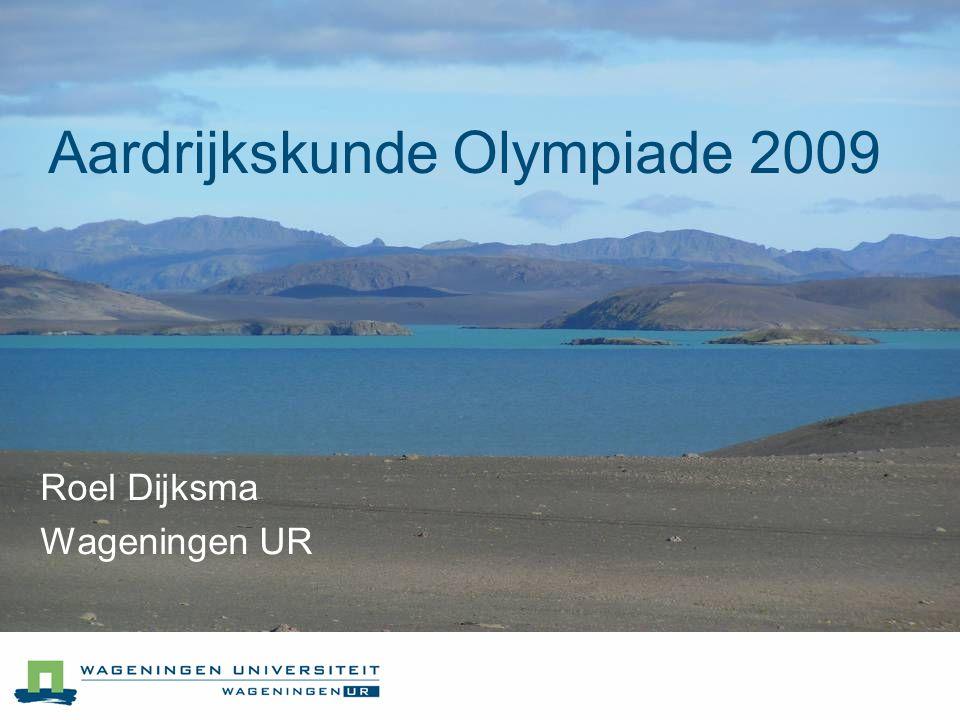 Aardrijkskunde Olympiade 2009