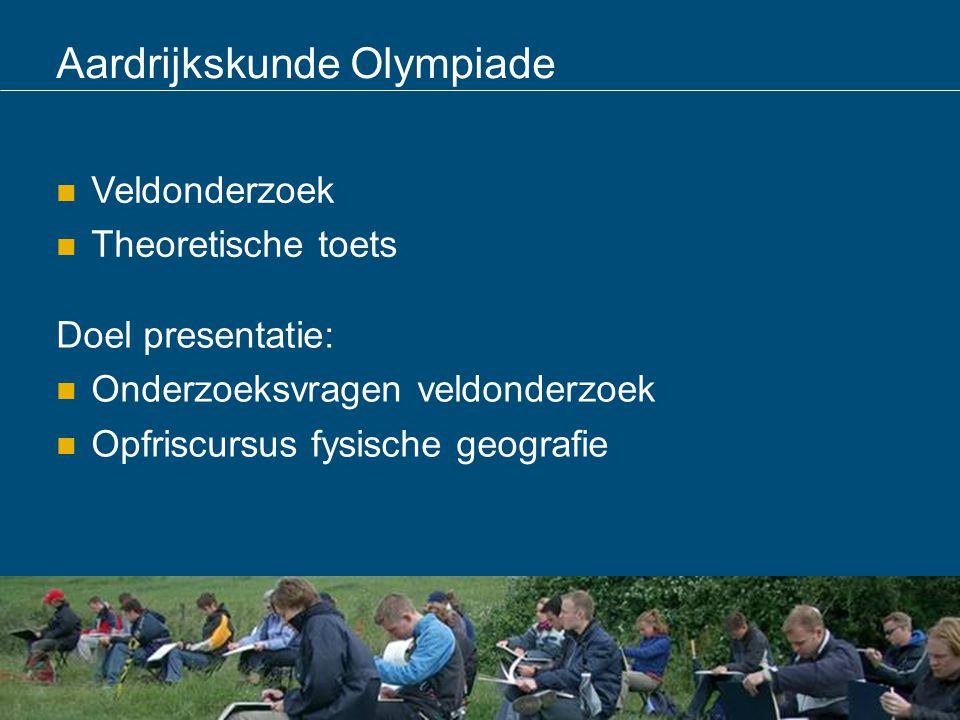 Aardrijkskunde Olympiade