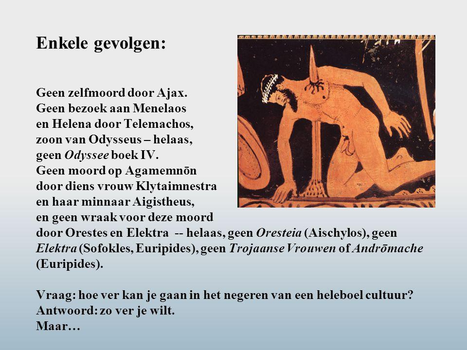 Enkele gevolgen: Geen zelfmoord door Ajax