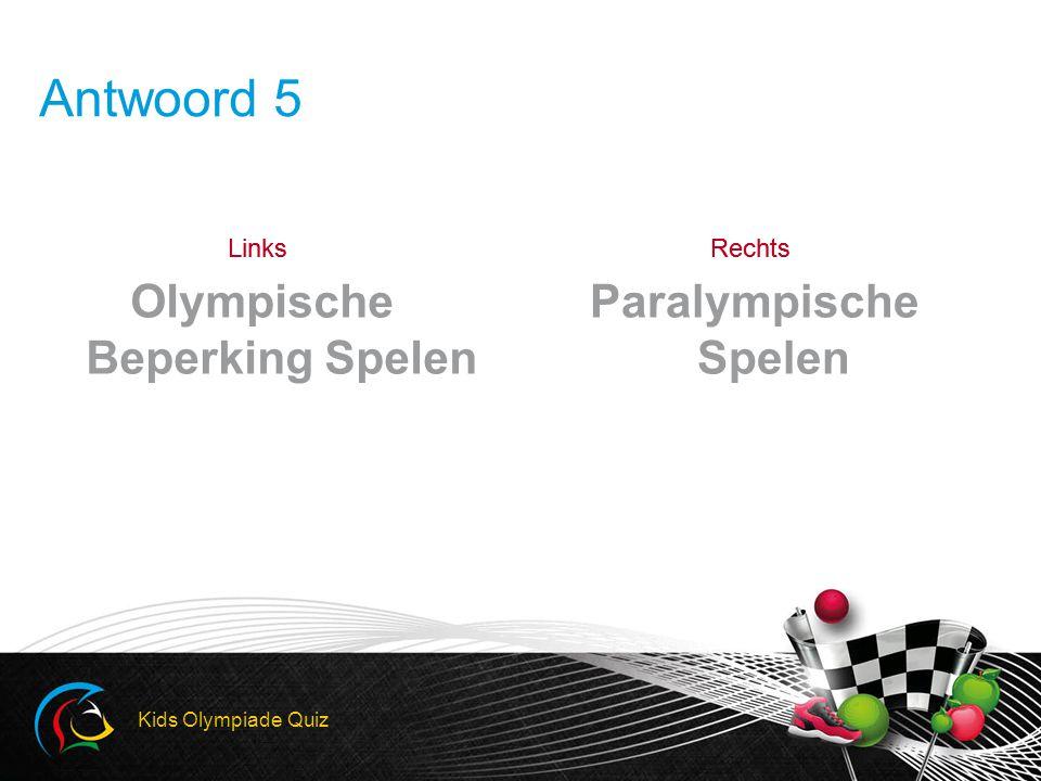 Olympische Beperking Spelen