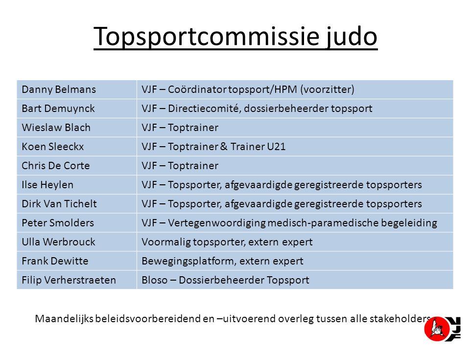 Topsportcommissie judo