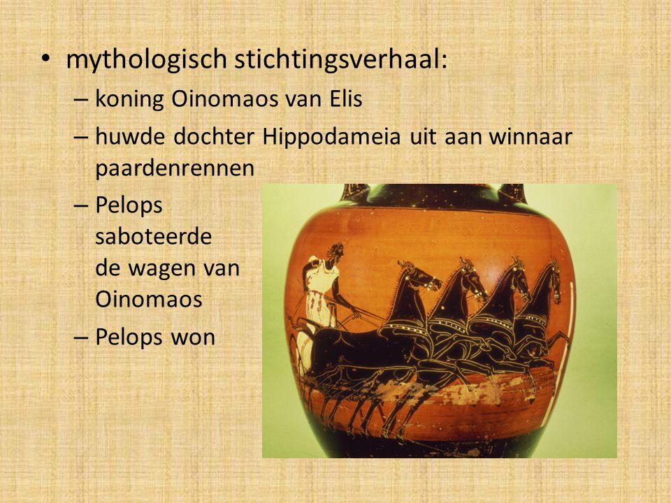 mythologisch stichtingsverhaal: