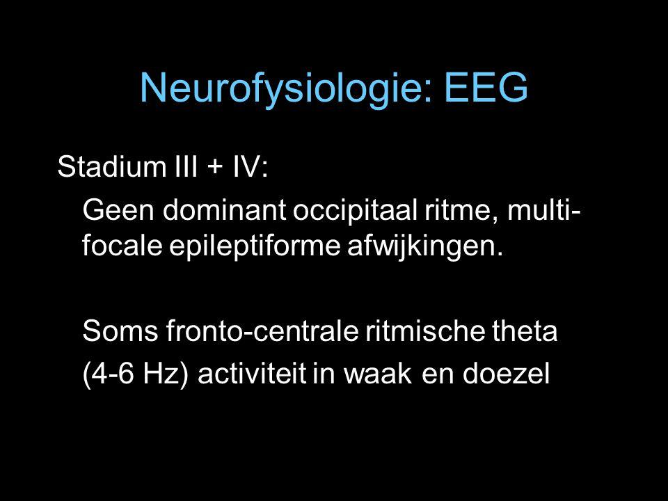 Neurofysiologie: EEG Stadium III + IV:
