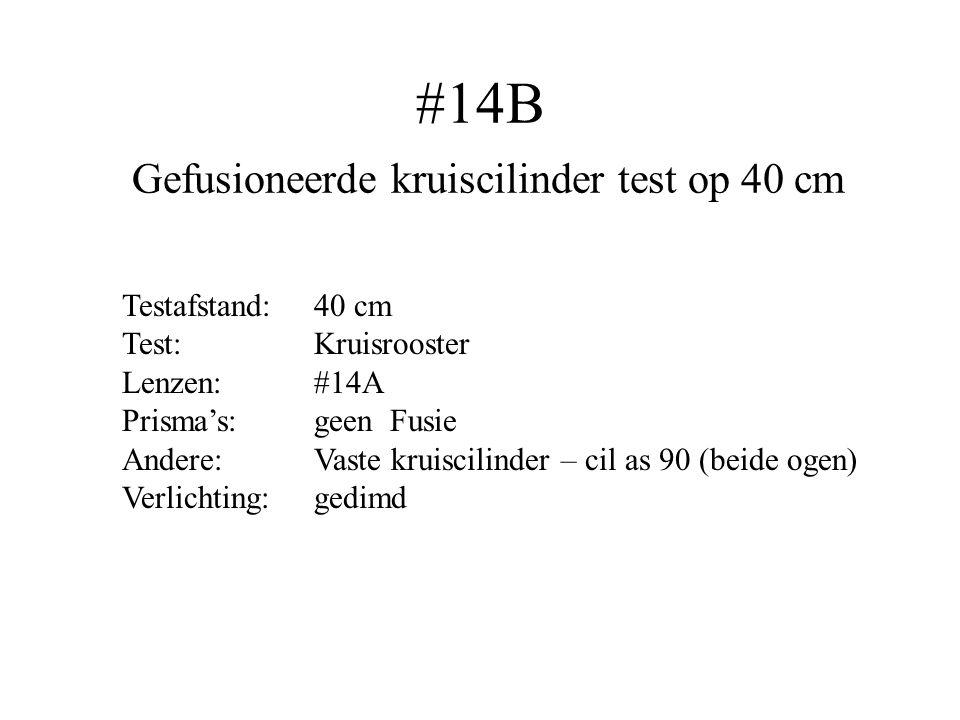 #14B Gefusioneerde kruiscilinder test op 40 cm