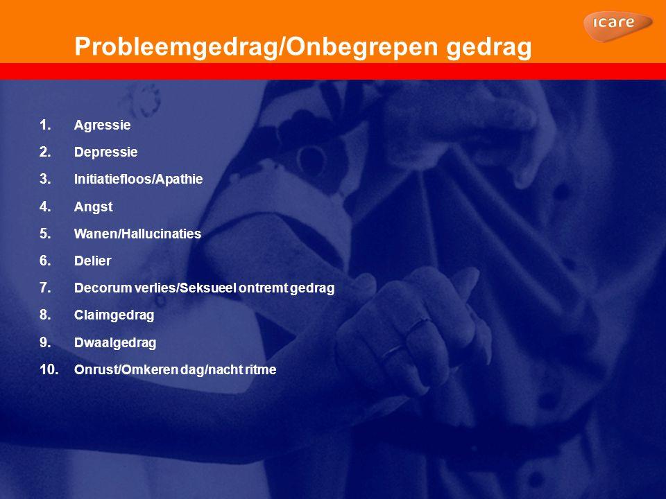 Probleemgedrag/Onbegrepen gedrag