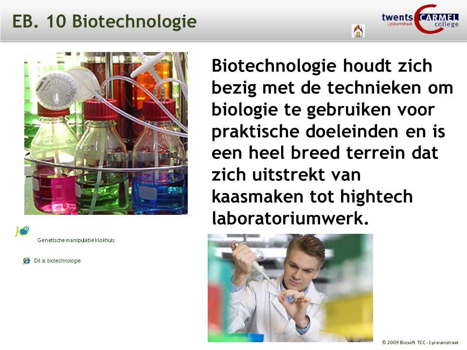 EB. 10 Biotechnologie