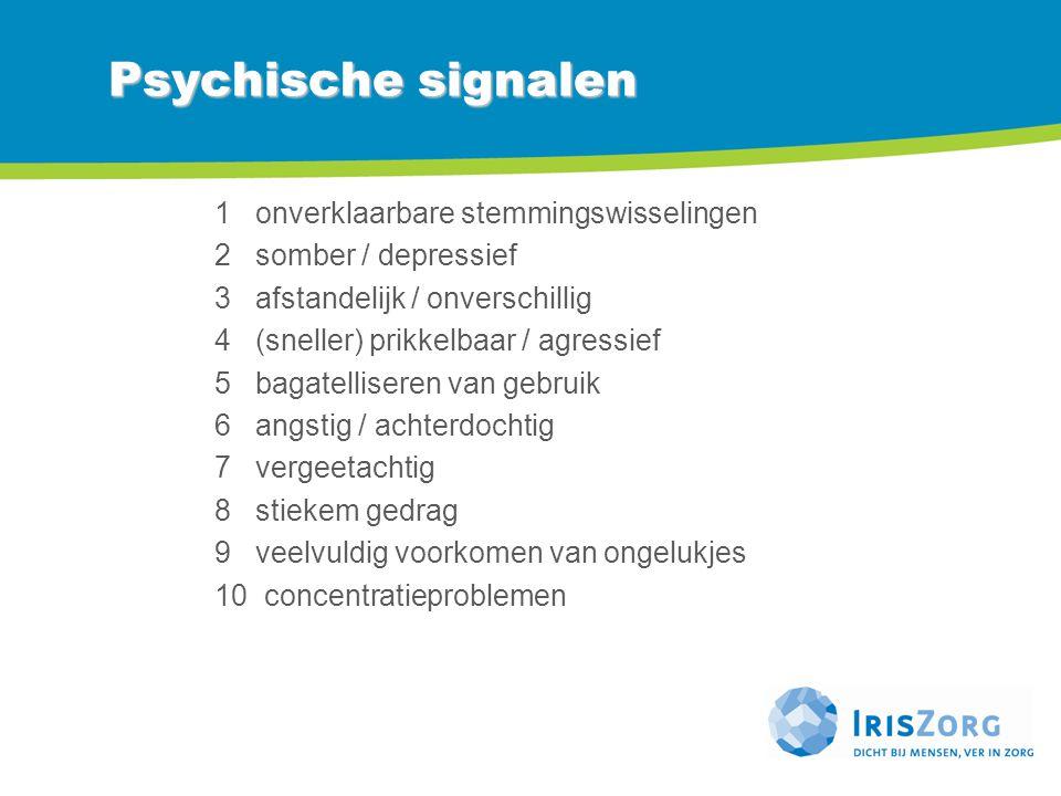 Psychische signalen 1 onverklaarbare stemmingswisselingen