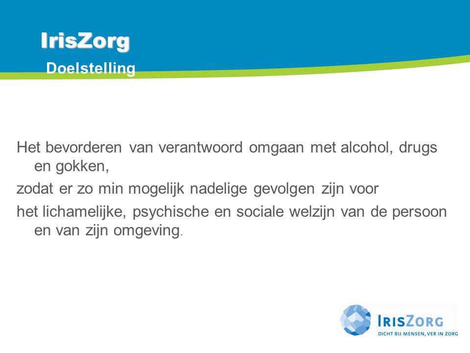 IrisZorg Doelstelling