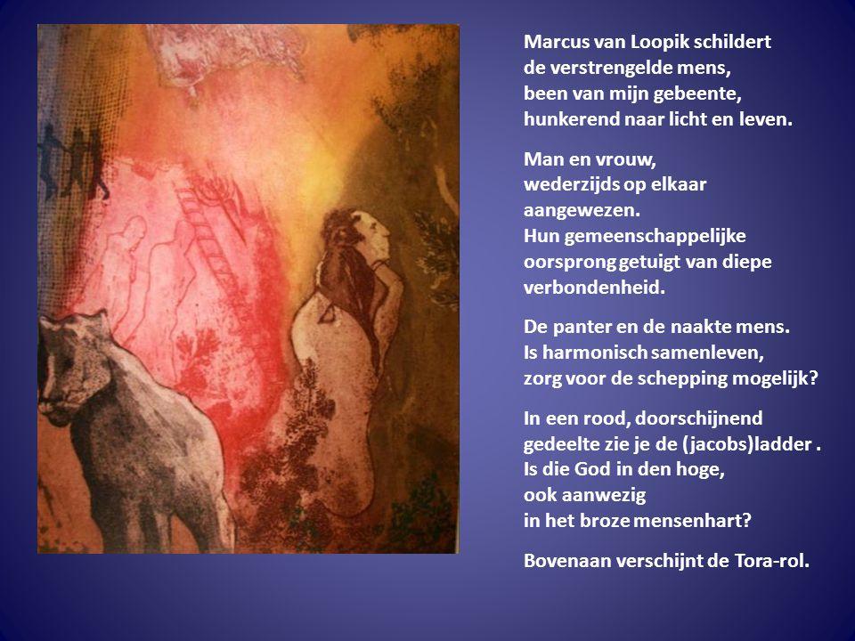 Marcus van Loopik schildert