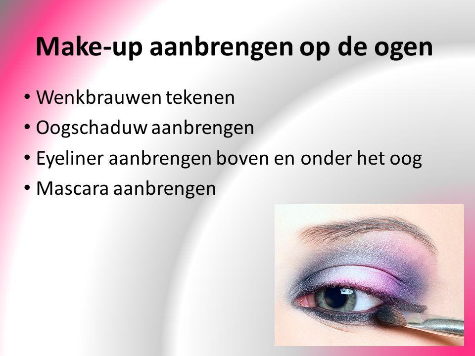 Make-up aanbrengen op de ogen