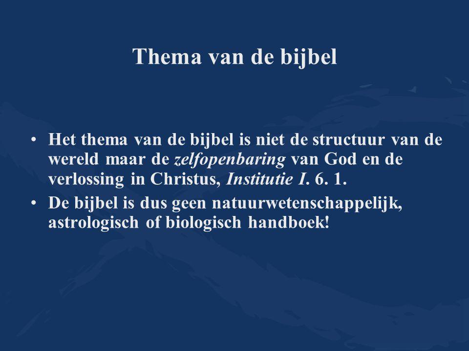 Thema van de bijbel