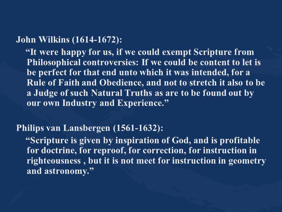 John Wilkins (1614-1672):