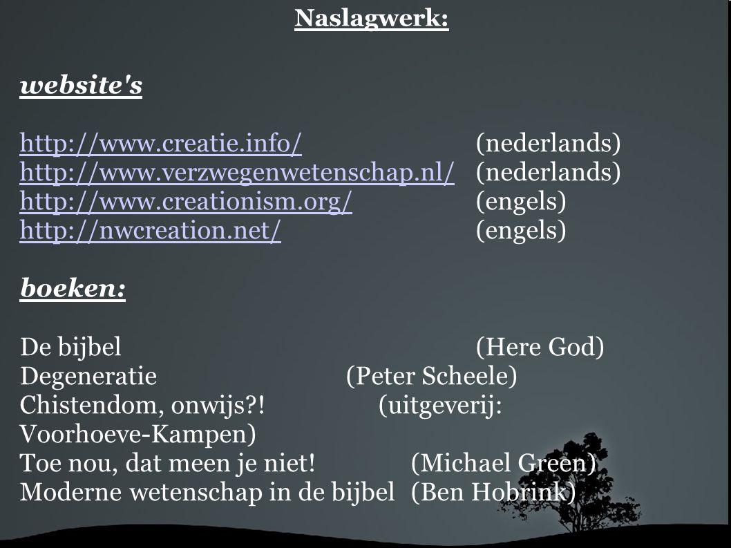 http://www.creatie.info/ (nederlands)