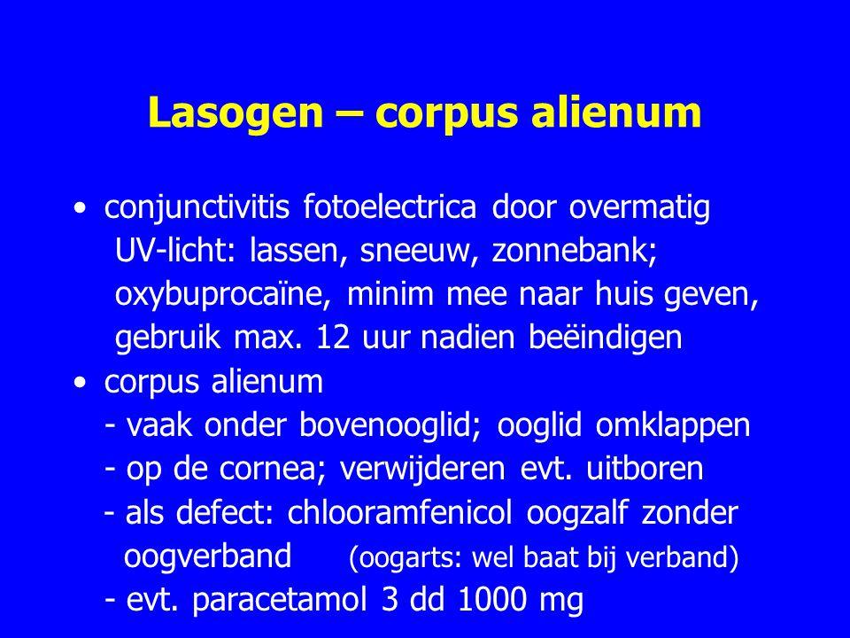 Lasogen – corpus alienum