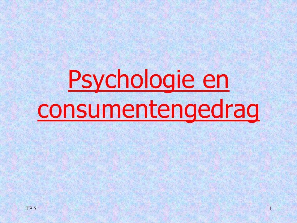 Psychologie en consumentengedrag