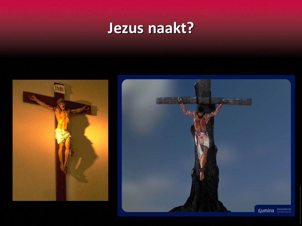 Jezus naakt