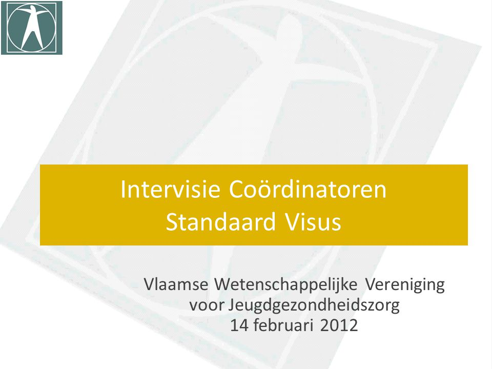Intervisie Coördinatoren Standaard Visus