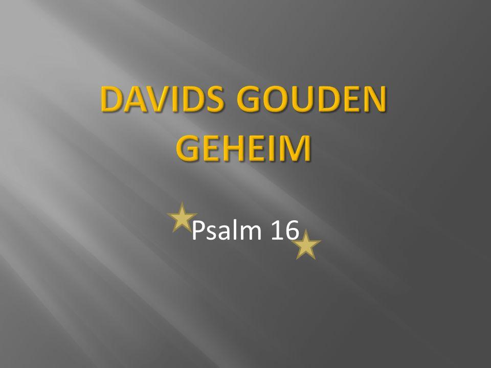 Davids gouden geheim Psalm 16