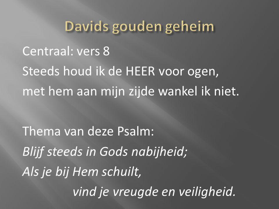 Davids gouden geheim