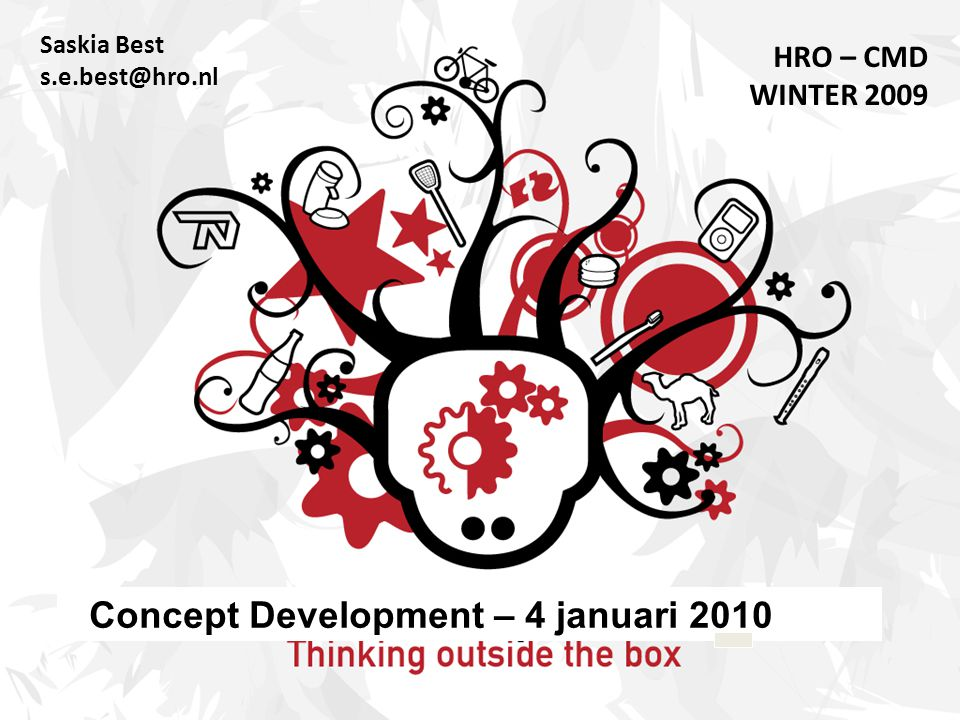 Concept Development – 4 januari 2010