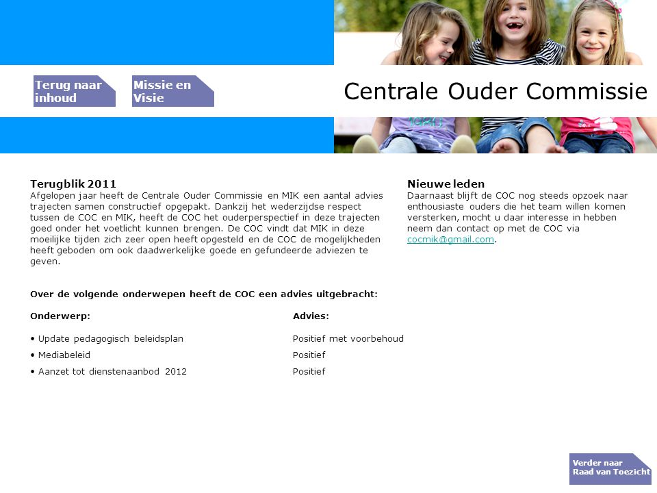 Centrale Ouder Commissie