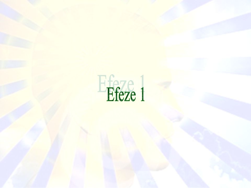 Efeze 1