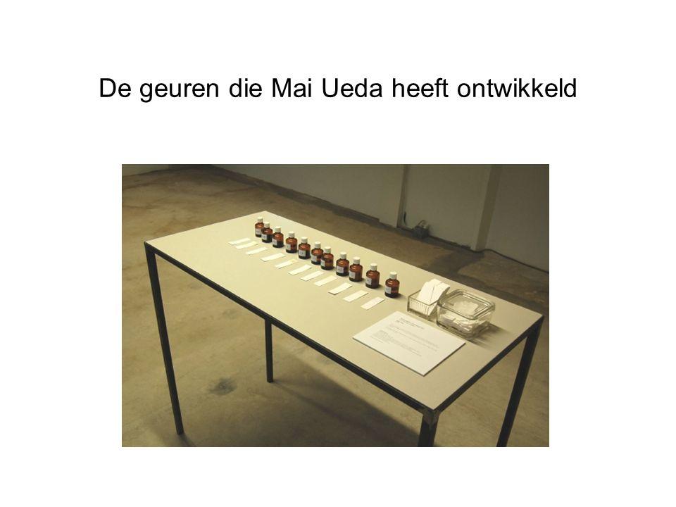 De geuren die Mai Ueda heeft ontwikkeld