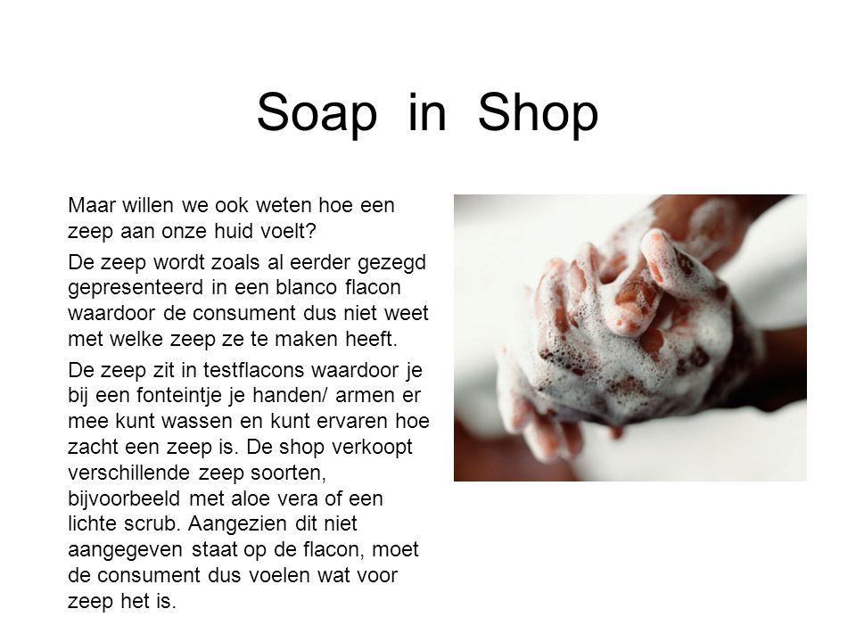 Soap in Shop