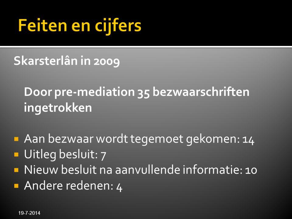Feiten en cijfers Skarsterlân in 2009