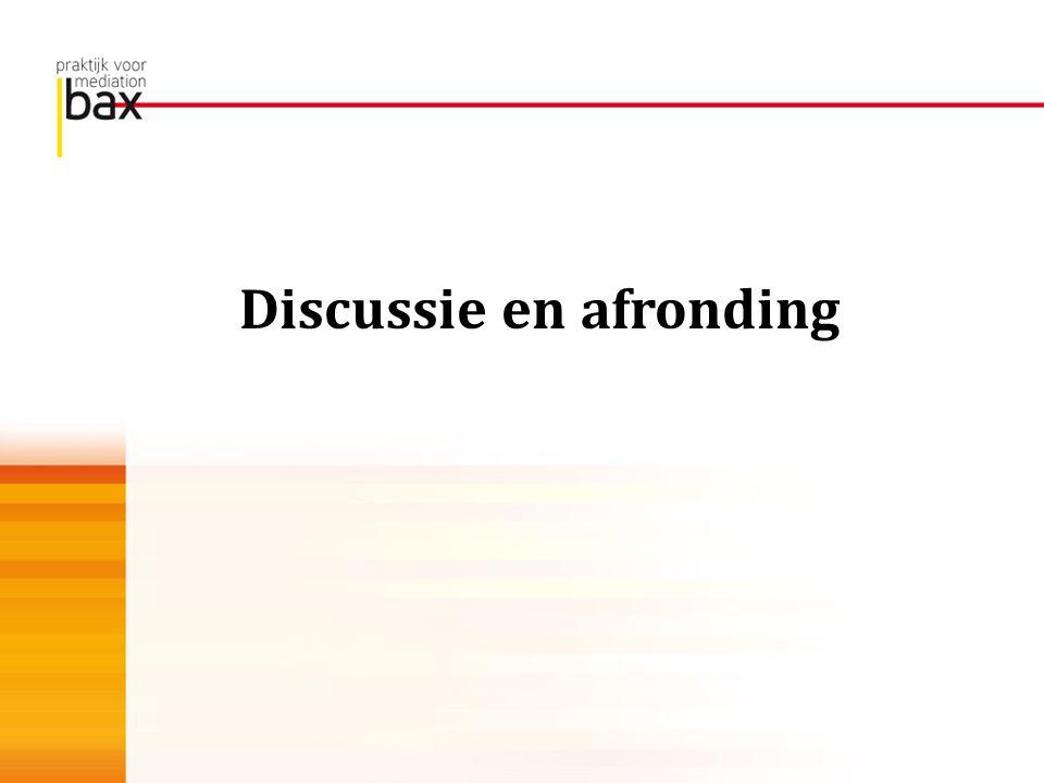 Discussie en afronding