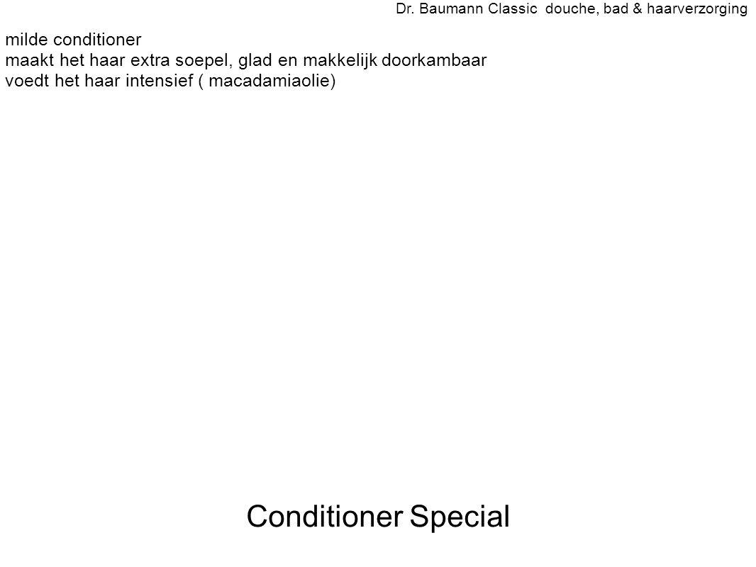 Conditioner Special - milde conditioner