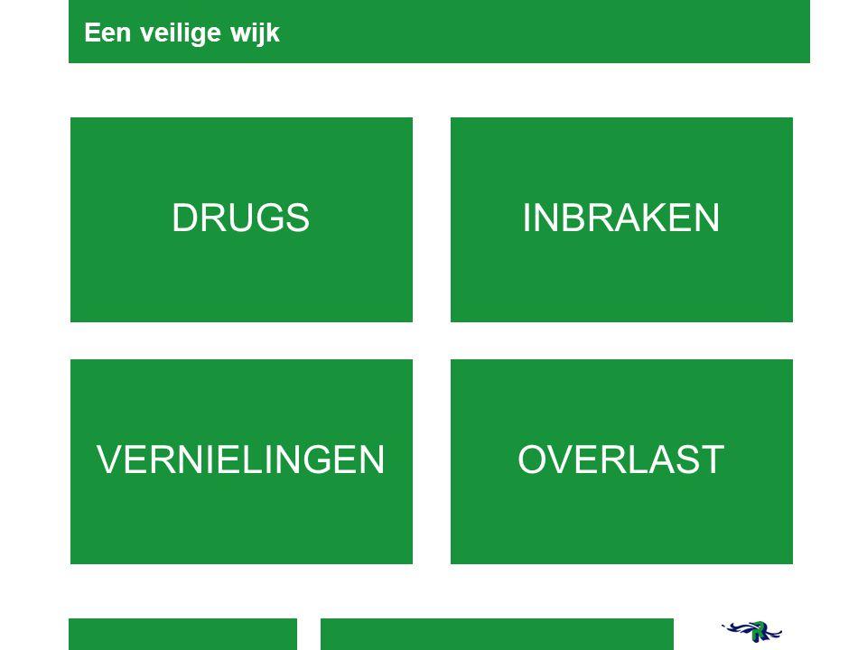 Een veilige wijk DRUGS INBRAKEN VERNIELINGEN OVERLAST 4-4-2017