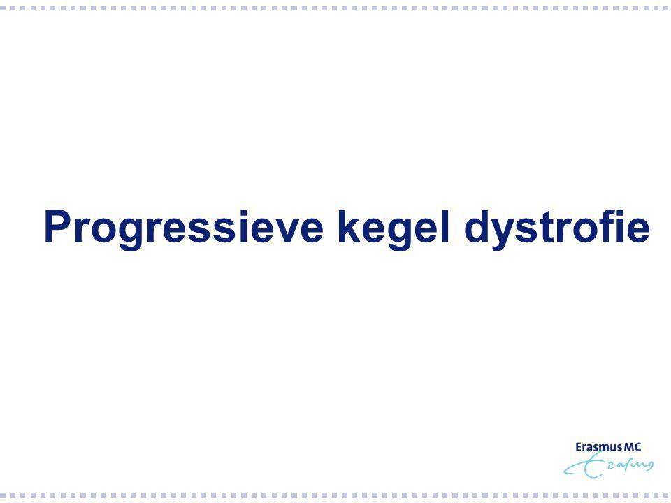 Progressieve kegel dystrofie