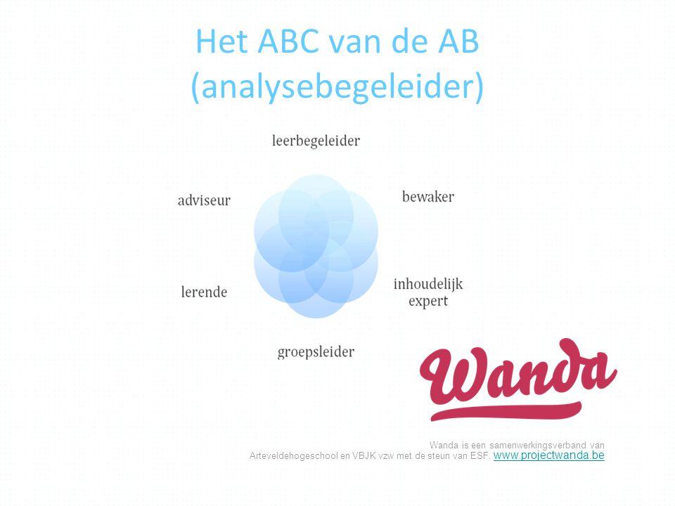 Het ABC van de AB (analysebegeleider)