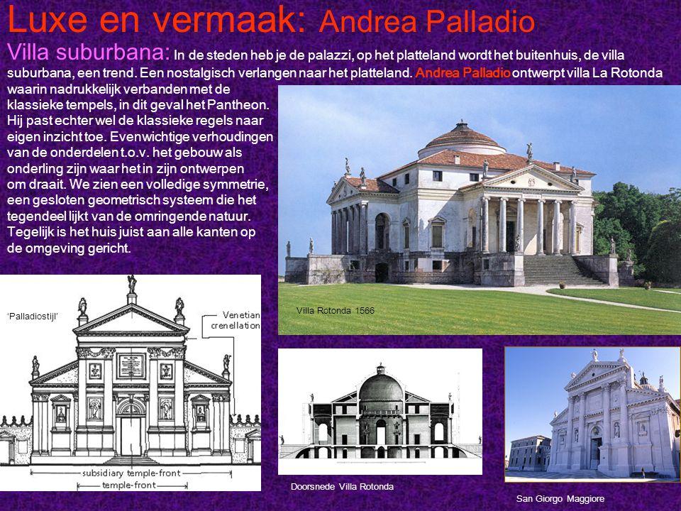 Luxe en vermaak: Andrea Palladio