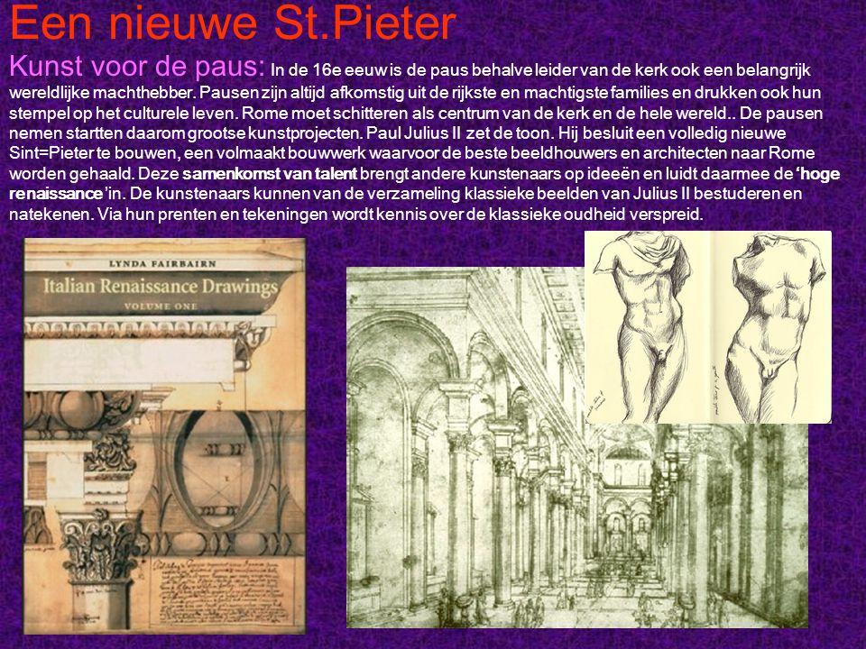 Een nieuwe St.Pieter
