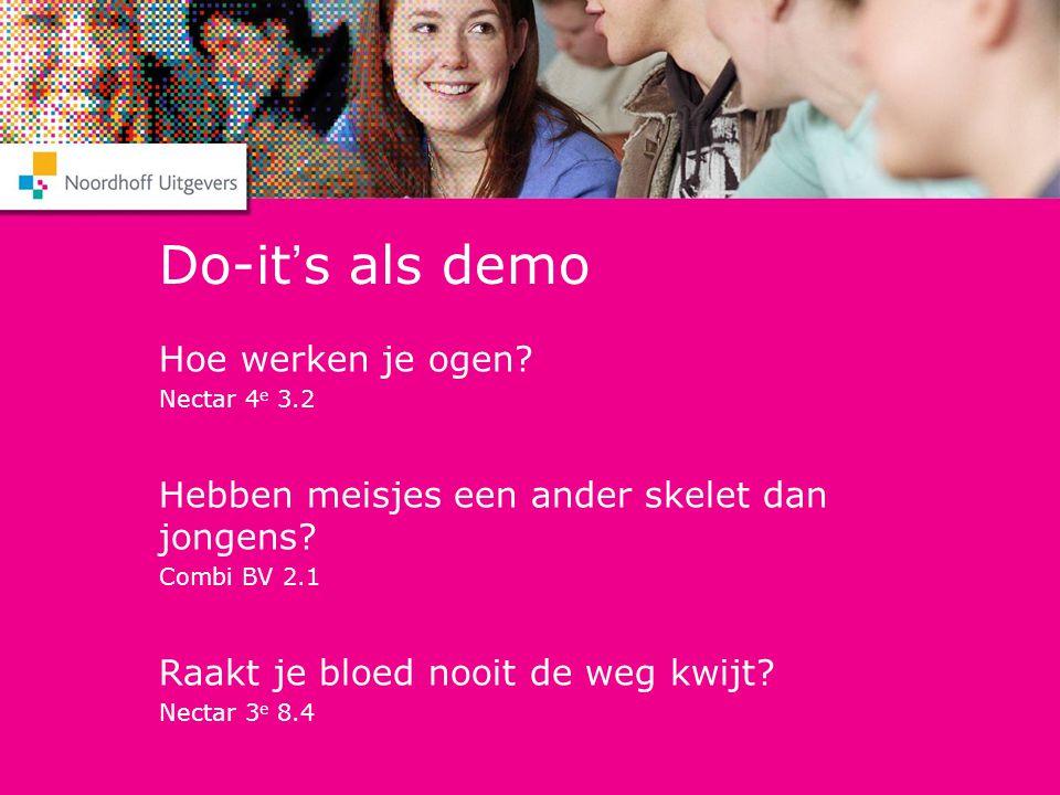 Do-it's als demo Hoe werken je ogen