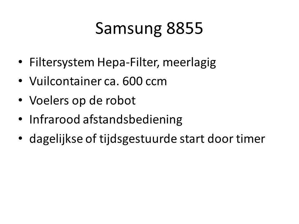 Samsung 8855 Filtersystem Hepa-Filter, meerlagig