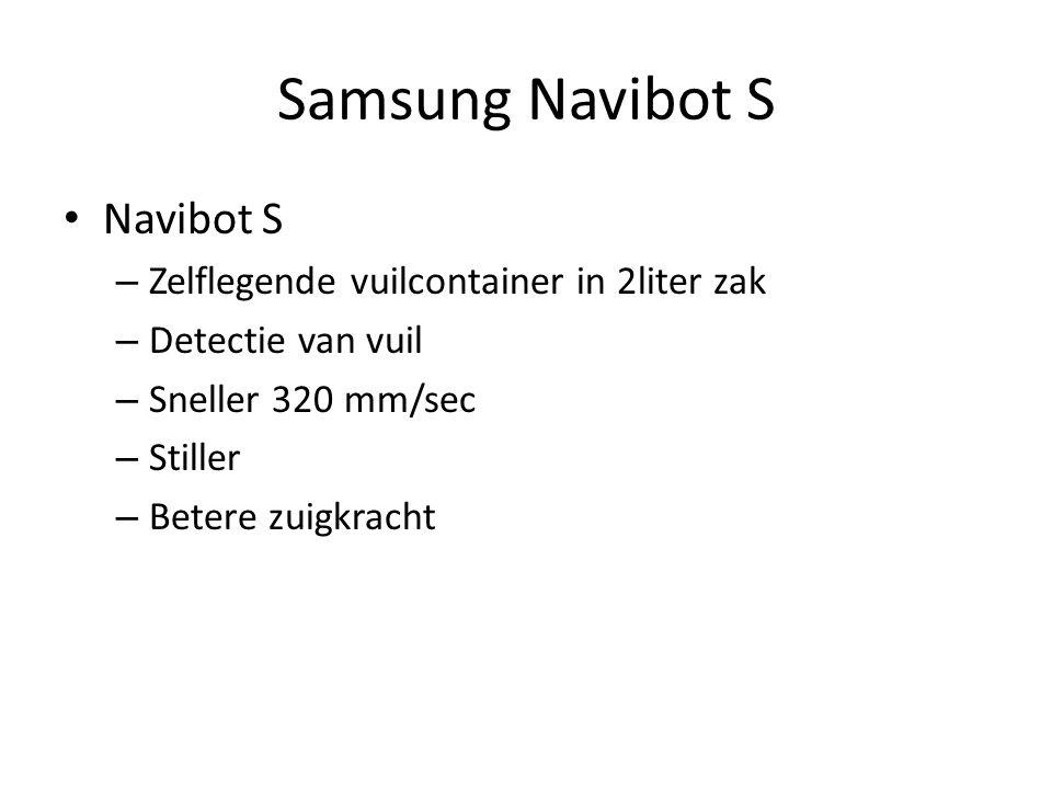 Samsung Navibot S Navibot S Zelflegende vuilcontainer in 2liter zak
