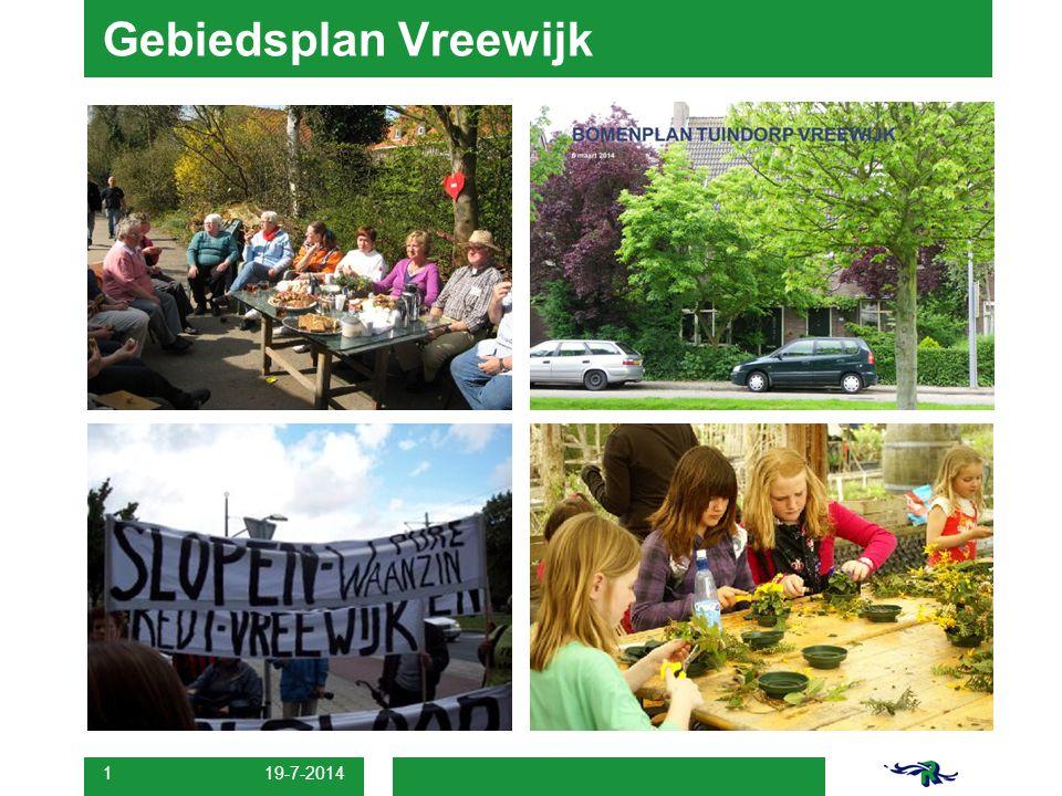 Gebiedsplan Vreewijk 4-4-2017