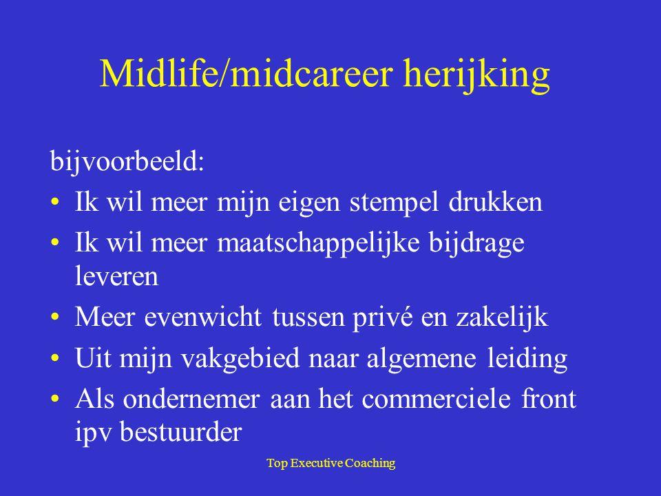 Midlife/midcareer herijking