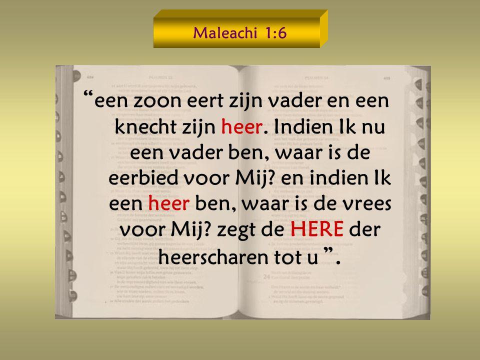 Maleachi 1:6