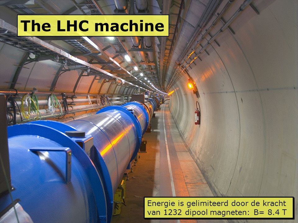 The LHC machine Korter. Council update (vragen ) TODAY.