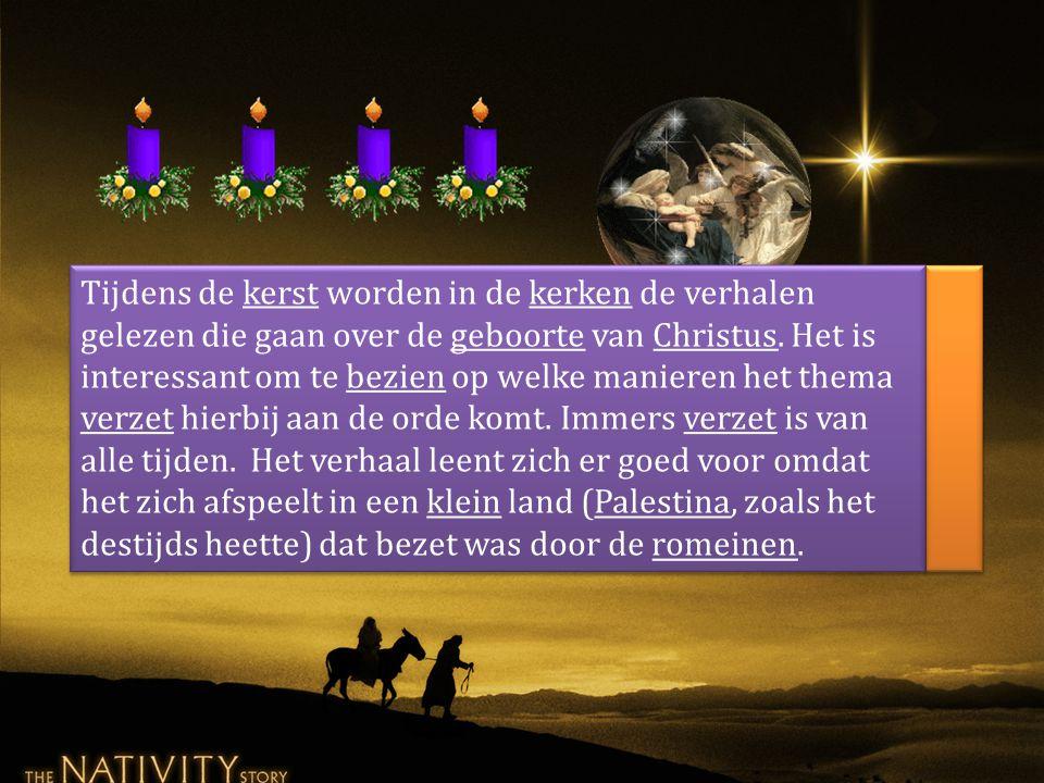 Tijdens de kerst worden in de kerken de verhalen gelezen die gaan over de geboorte van Christus.