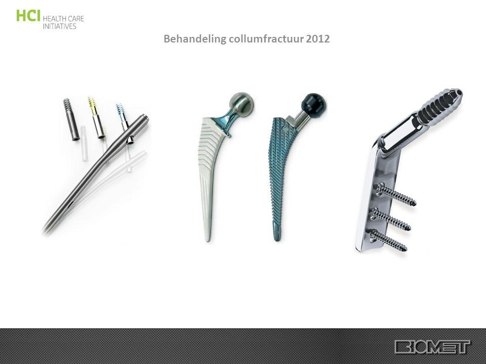 Behandeling collumfractuur 2012