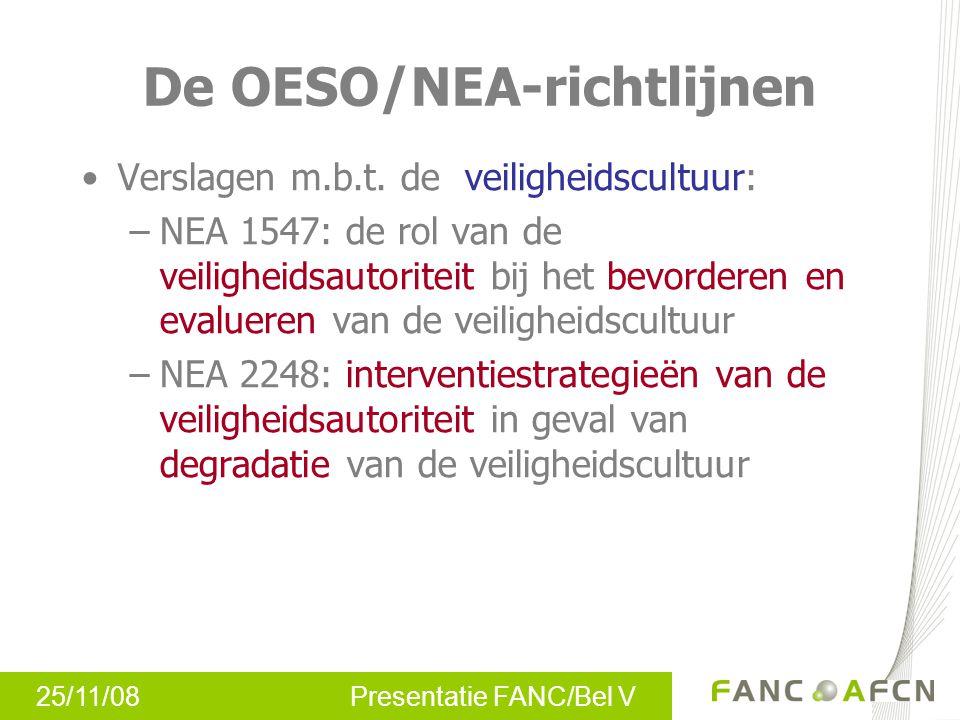 De OESO/NEA-richtlijnen