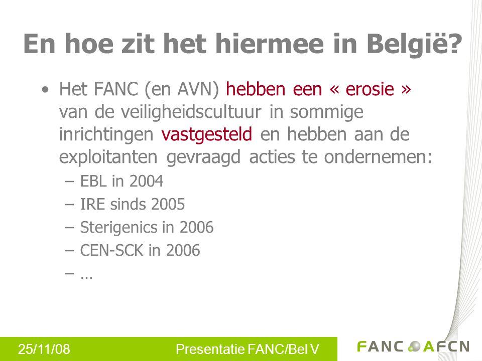 En hoe zit het hiermee in België