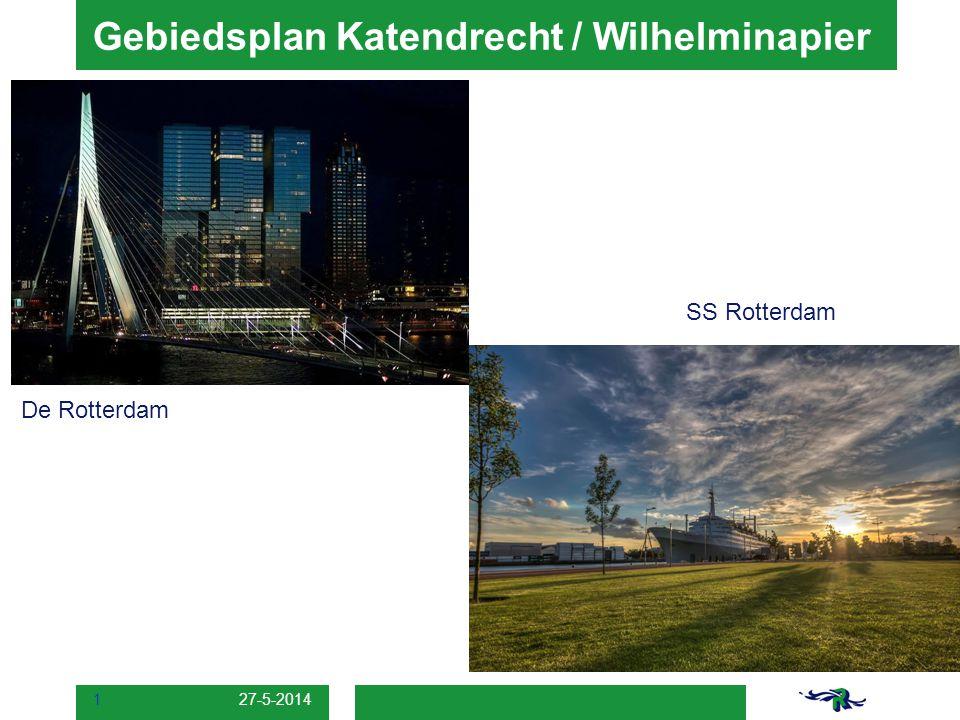 Gebiedsplan Katendrecht / Wilhelminapier