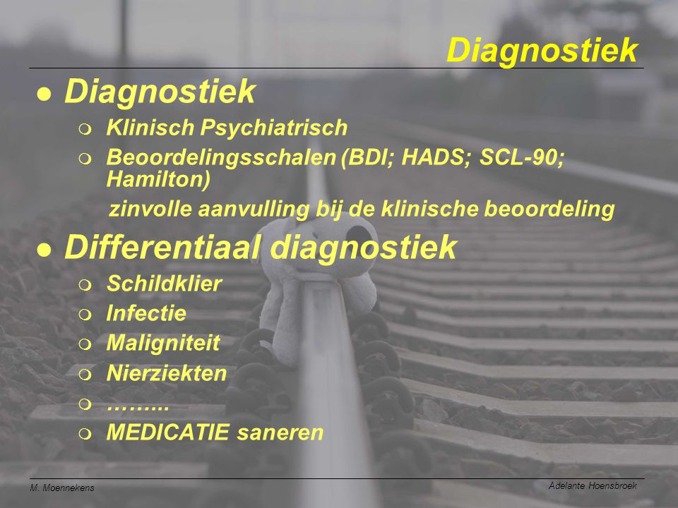 Differentiaal diagnostiek